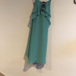 BCBG MAXAZRIA green dress brand new with tags